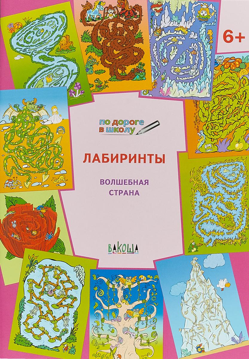 В.М. Мёдов Волшебная страна. Лабиринты ISBN: 978-5-00132-008-1 волшебная страна 6шт 001475