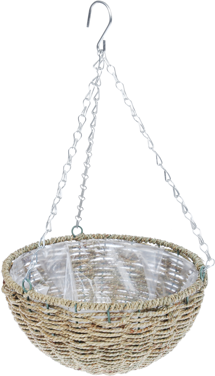 Кашпо плетеное Грин Бэлт Cord, диаметр 30 см