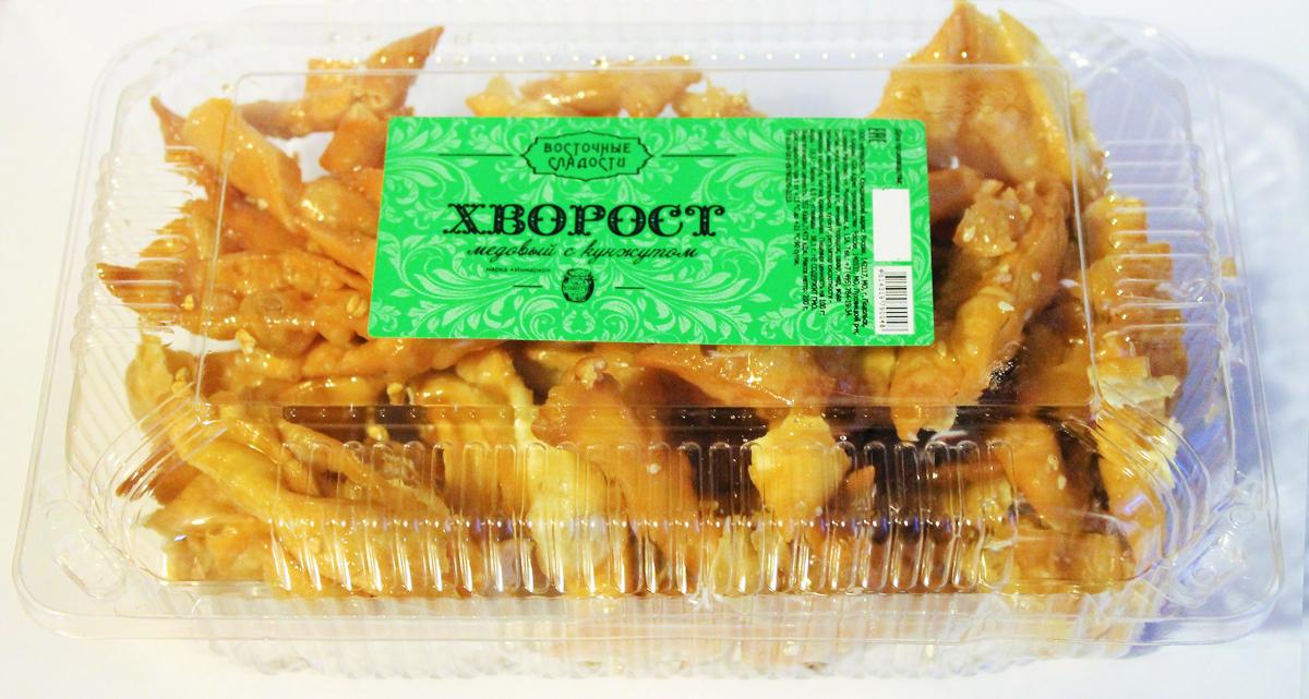 Восточные сладости Хворост с кунжутом, 200 г импрессо печенье с кунжутом 190 г
