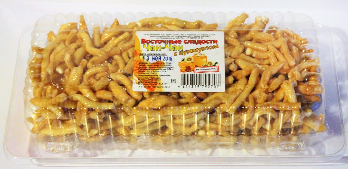 Восточные сладости ЧАК-ЧАК с кунжутом, 180 г импрессо печенье с кунжутом 190 г