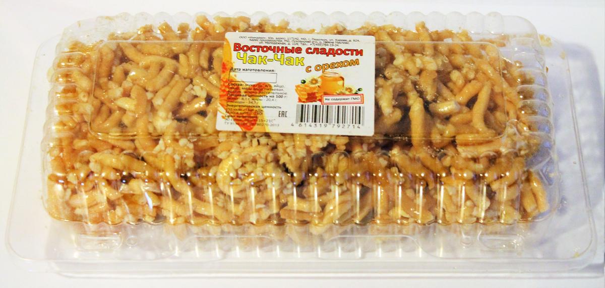 Восточные сладости ЧАК-ЧАК с орехом, 180 г сибирские отруби пшеничные с кедровым орехом 200 г
