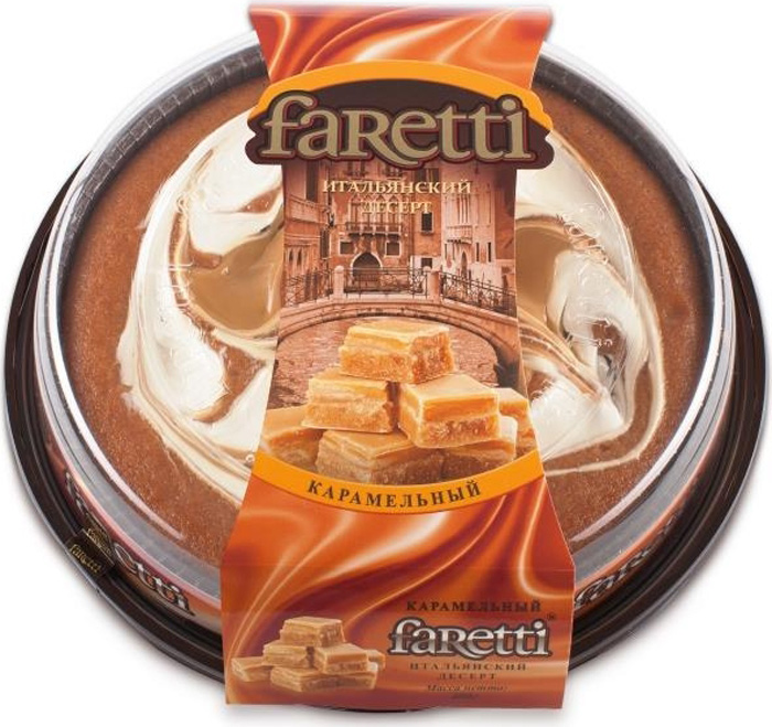 Faretti Десерт Карамельный, 400 г