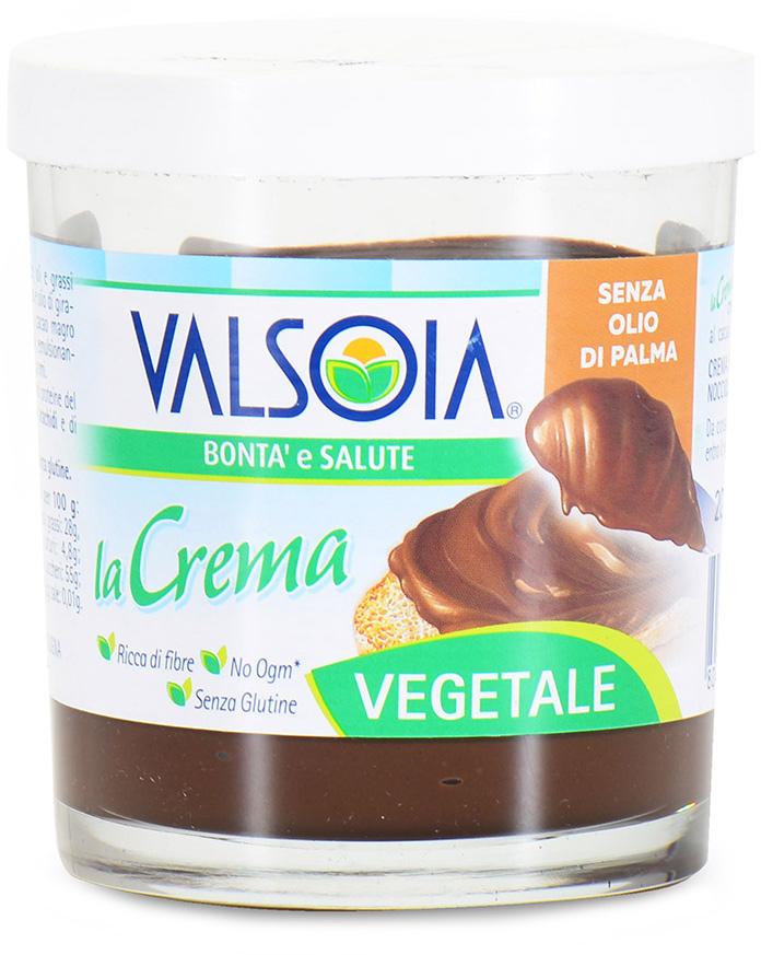 Valsoia Паста шоколадная Vegan ореховая без пальмового масла, 200 г naturaliber паста шоколадная с абрикосом 225 г