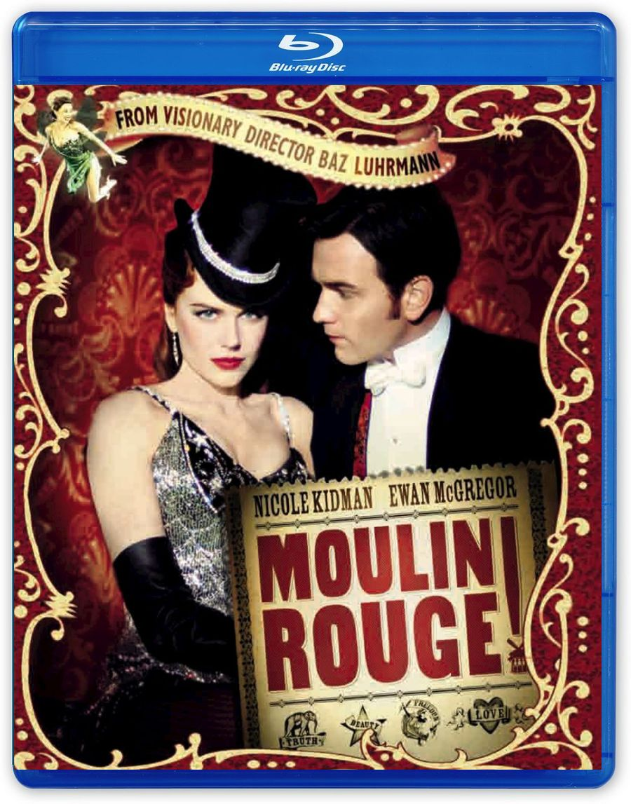 Мулен Руж (Blu-ray) madame alexander кукла танцовщица из мулен руж