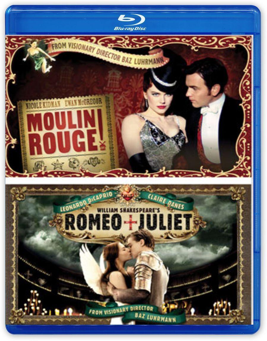 Мулен Руж / Ромео + Джульетта (2 Blu-ray)