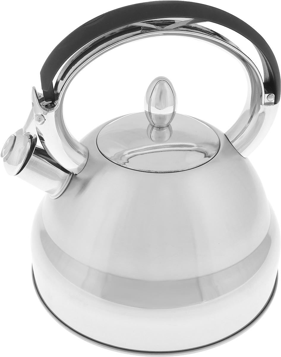 Чайник MAYER&BOCH изготовлен из высококачественной нержавеющей стали. Изделия из нержавеющей стали не окисляются и не впитывают запахи, благодаря чему вы всегда получите натуральный, насыщенный вкус и аромат напитков. Капсулированное дно с прослойкой из алюминия обеспечивает наилучшее распределение тепла. Удобная фиксированная ручка выполнена из нержавеющей стали и бакелита, также на ручке расположена клавиша механизма открывания носика. Носик чайника оснащен насадкой-свистком, который позволяет контролировать процесс кипячения или подогрева воды. Поверхность чайника гладкая, что облегчает уход за ним. Эстетичный и функциональный, с современным дизайном, чайник будет оригинально смотреться на любой кухне. Подходит для использования на всех типах плит, включая индукционные. Подходит для мытья в посудомоечной машине.