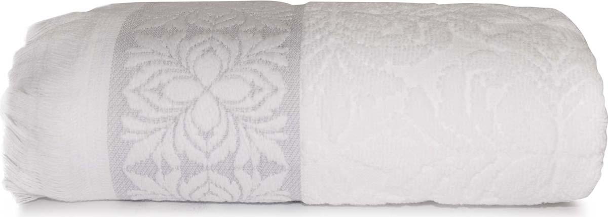 Полотенце Сlassic by T Грейс, цвет: белый, 50 х 90 см полотенце сlassic