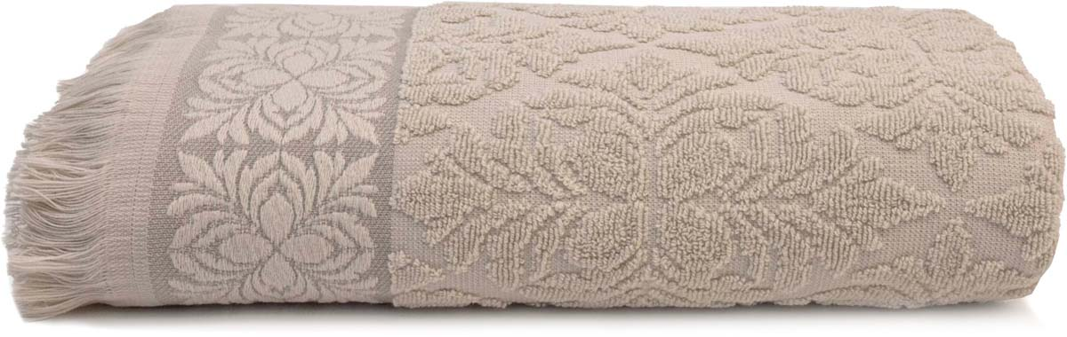 Полотенце банное Сlassic by T Грейс, цвет: экрю, 70 х 130 см полотенце сlassic