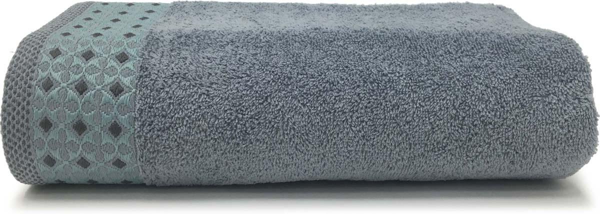 Полотенце банное Сlassic by T Веста, цвет: голубой, 70 х 130 см mabella mavi голубой полотенце банное