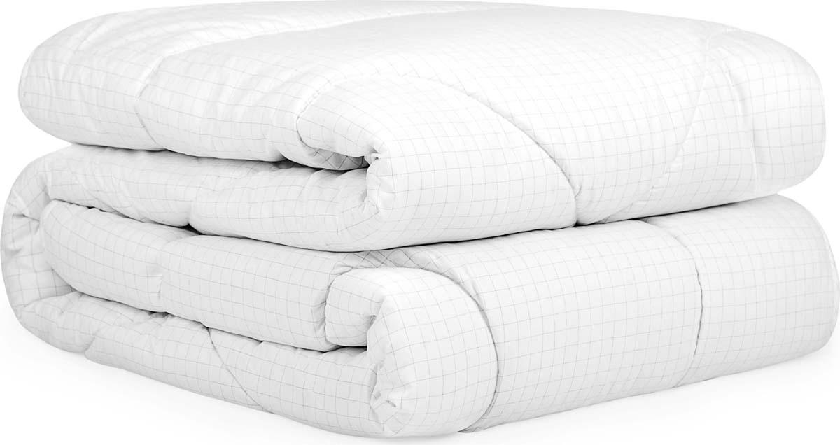 """Одеяло Сlassic by T """"Релакс"""", наполнитель: микроволокно, цвет: белый, 200 х 210 см"""