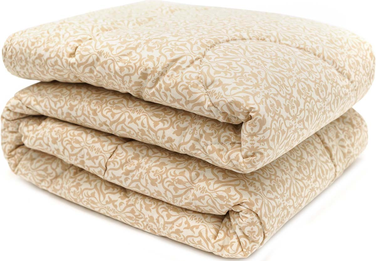 Одеяло Сlassic by T Ренессанс, наполнитель: овечья шерсть, полиэфирное волокно, цвет: белый, 140 х 200 см letto двустороннее покрывало одеяло велокот 140 200 см