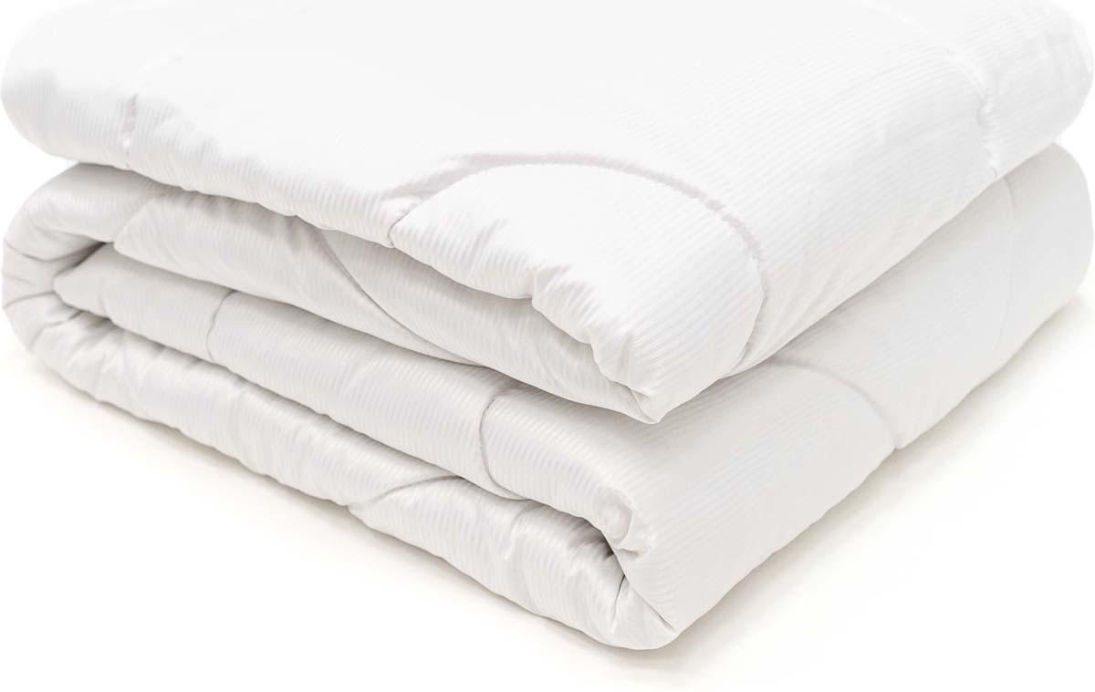 Одеяло Сlassic by T Soft Wool, наполнитель: овечья шерсть, полиэфирное волокно, цвет: белый, 175 х 200 см