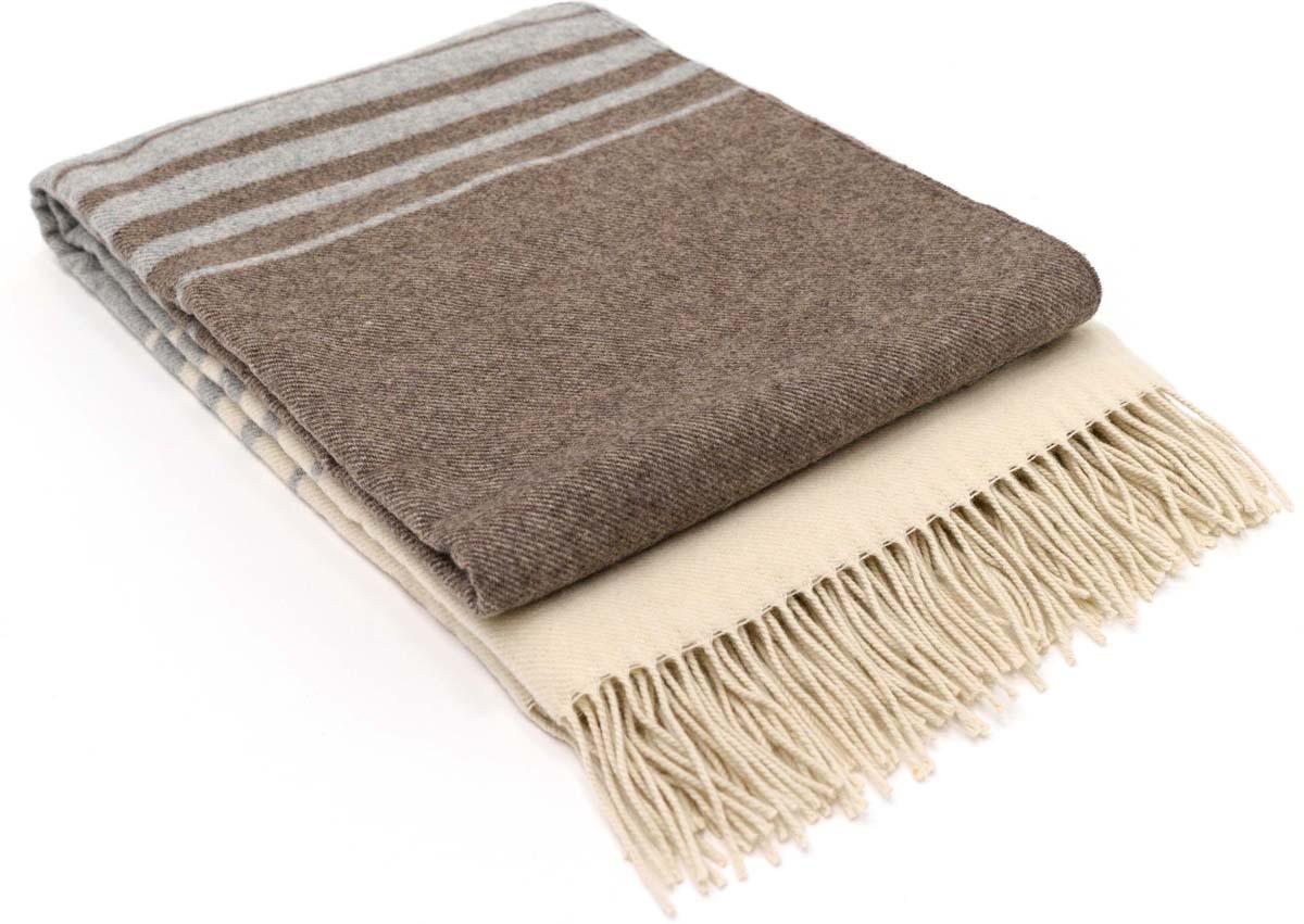 Плед Estia Тори, цвет: белый, серый, темно-серый, 140 х 200 см плед absolute цвет зеленый серый 150 х 200 см 69764
