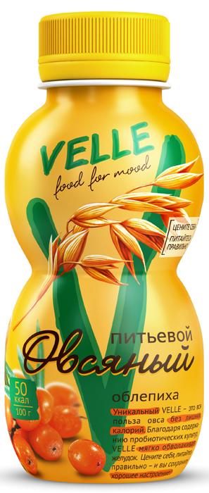 Velle Продукт овсяный питьевой Облепиха, 250 г clipper растворимый шоколад питьевой 250 г