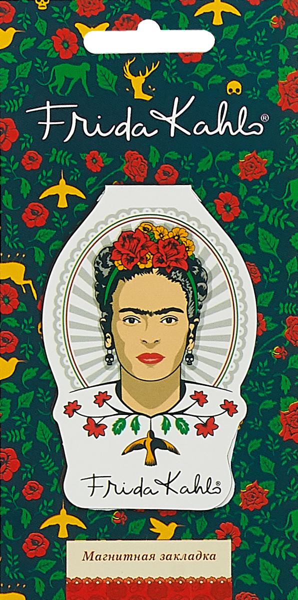 Фигурная магнитная закладка. Фрида Кало.