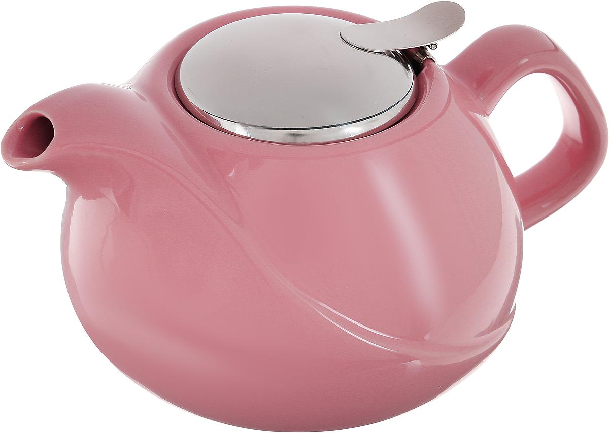 Заварочный чайник LORAINE выполнен из высококачественной цветной керамики. Фильтр, из нержавеющей стали, для заваривания раскроет букет чая и не позволит чаинкам попасть в чашку. Удобная металлическая крышка поддержит нужную температуру для заваривания чая. Керамический чайник прост и удобен в применении, чайник легко мыть. Не ставьте чайник на открытый огонь и нагревающиеся поверхности. Подходит для мытья в посудомоечной машине.