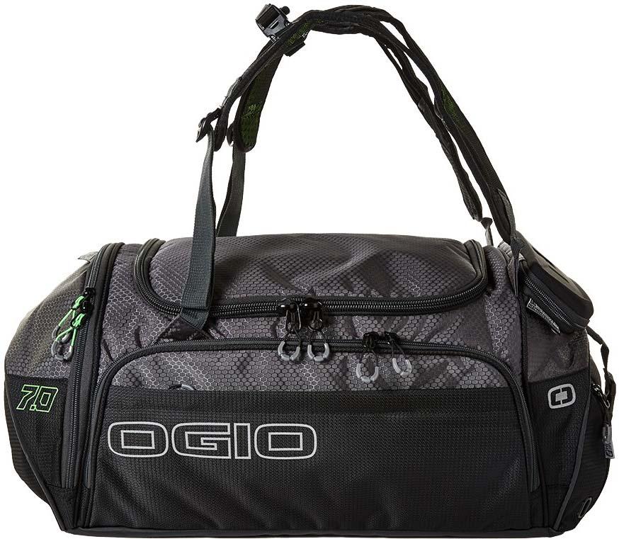 Сумка OGIO Endurance 7.0 Bag, цвет: черный, серый, 36,8 л a suit of vintage rhinestone leaf necklace and earrings for women