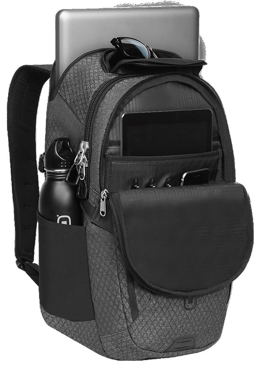 Рюкзак городской OGIO Summit Pack, цвет: темно-серый, 21 л рюкзак городской ogio active c7 sport pack a s цвет черный салатовый 031652226821