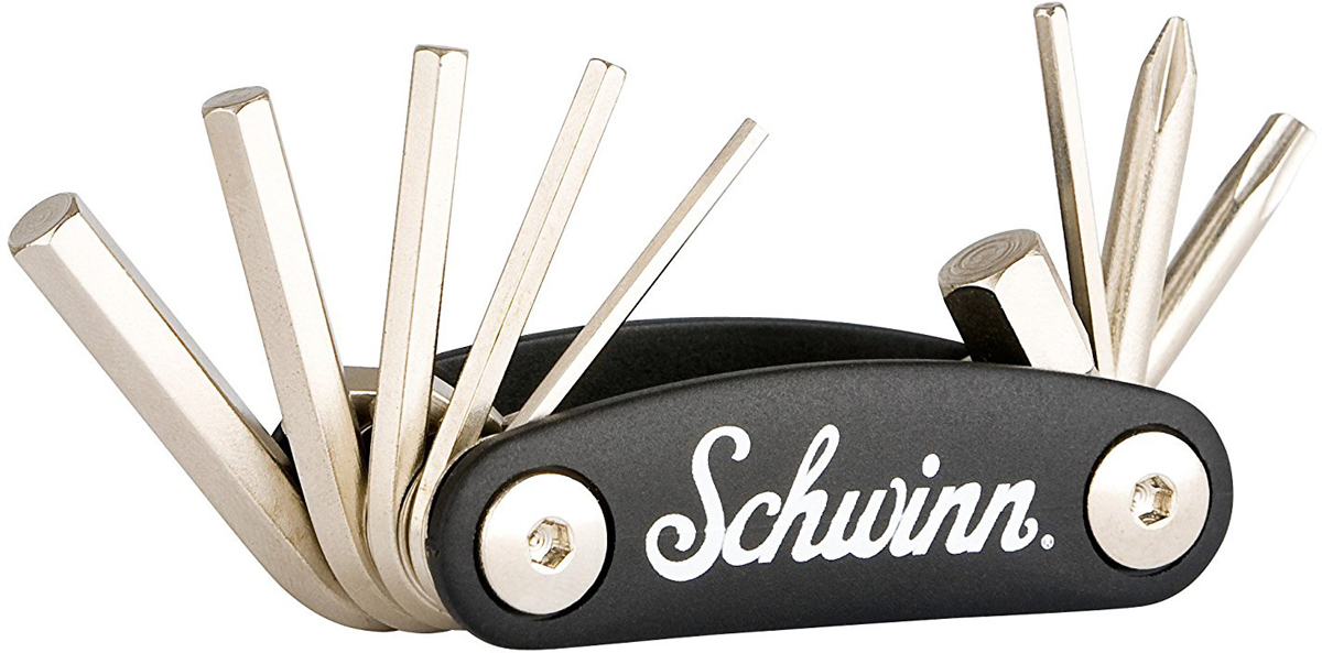 Набор ключей Schwinn 9 in 1 Tool, цвет: черный