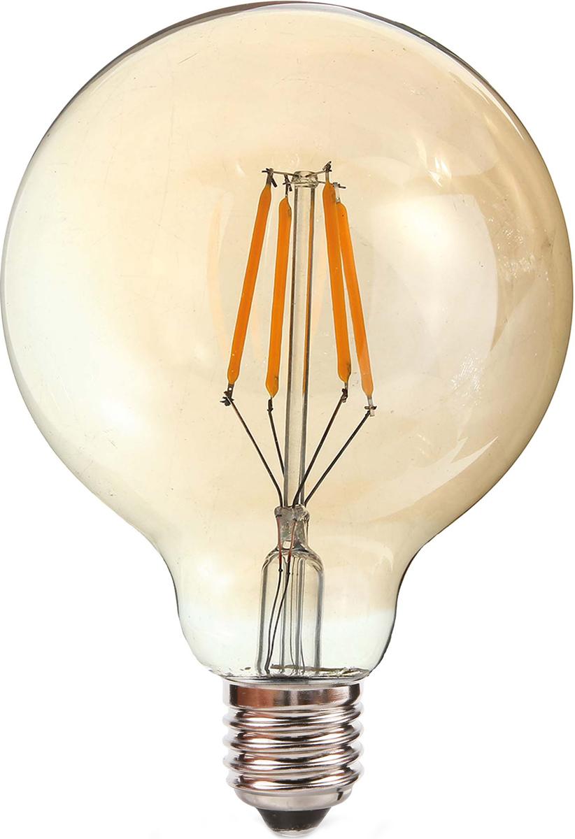 """Лампа светодиодная REV """"Filament"""", G95, теплый свет, цоколь E27, 5 Вт. 32433 1"""