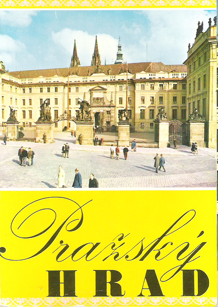 Prazsky hrad (набор из 12 открыток)