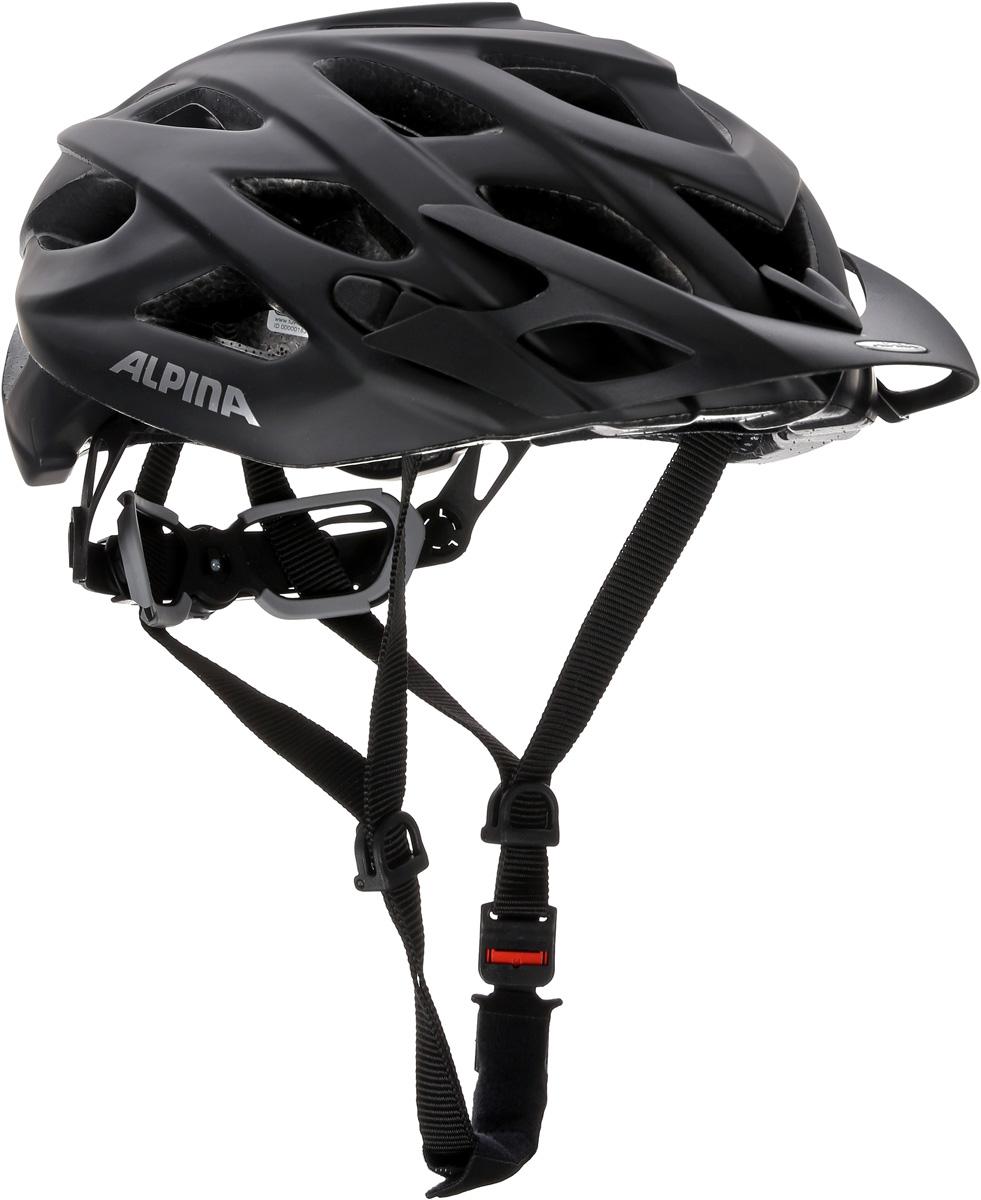 Велошлем Alpina D-Alto LE, цвет: черный матовый. Размер 52-57 см