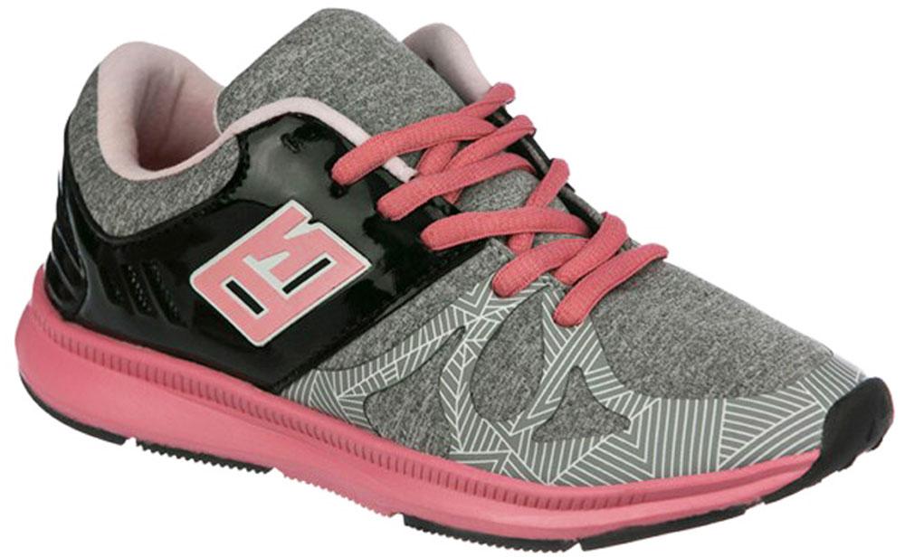 Кроссовки для девочки Indigo Kids, цвет: серый. 90-119A/12. Размер 38 кроссовки для девочки indigo kids цвет фуксия 90 099a 12 размер 31