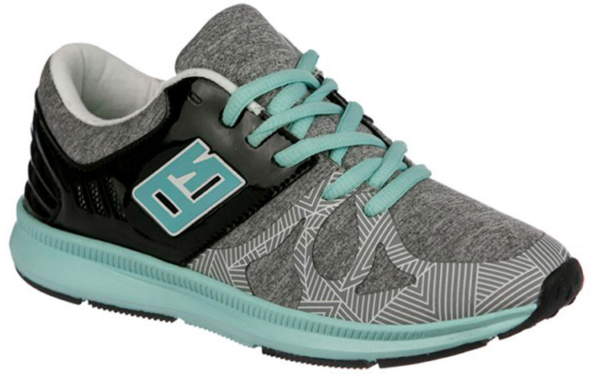 Кроссовки для девочки Indigo Kids, цвет: серый. 90-119B/12. Размер 37 кроссовки для девочки indigo kids цвет фуксия 90 099a 12 размер 31