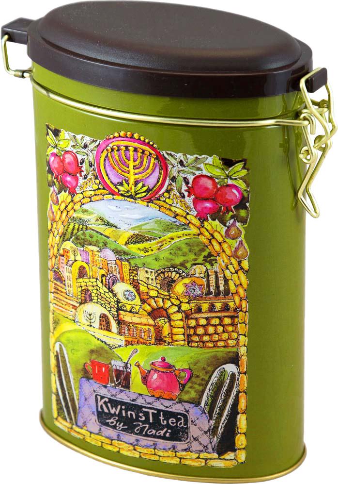 Kwinst Старый город чай зеленый листовой, 150 г teacher карельский чай цветочно травяной купаж 500 г