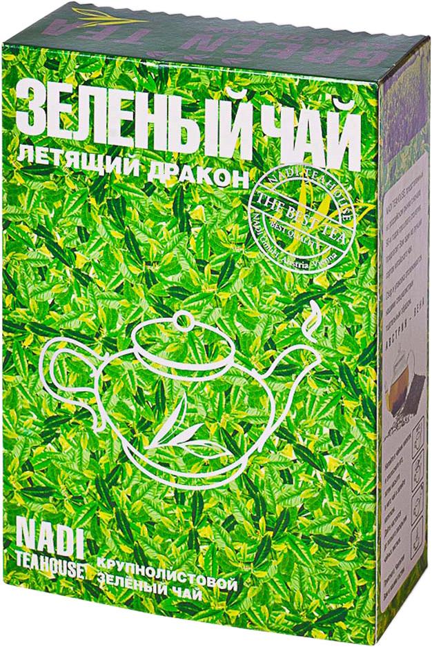 Kwinst Летящий Дракон чай зеленый листовой, 250 г newby hi chung зеленый листовой чай 125 г