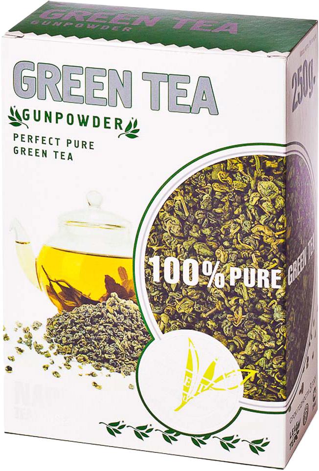 Kwinst Порох чай зеленый листовой, 250 г newby hi chung зеленый листовой чай 125 г