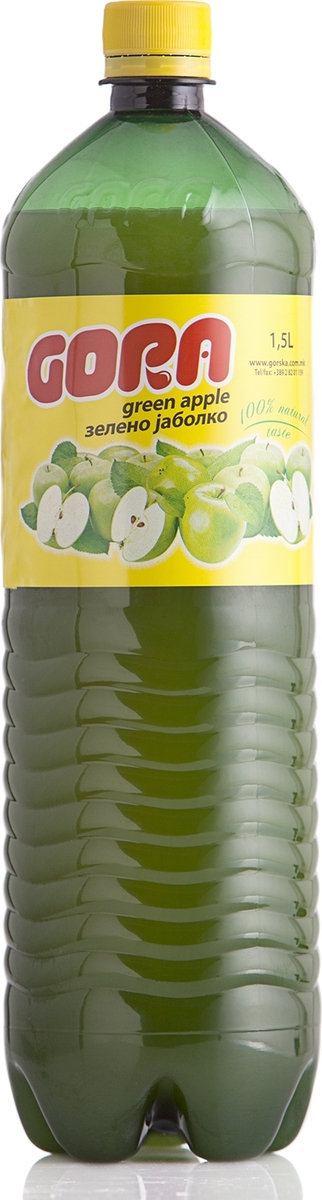 Гора сок зеленое яблоко, 1,5 л кружка best home porcelain прованс 350 мл
