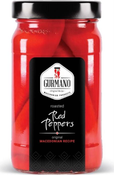 Gurmano Перец красный печеный, 490 г перец чили таиланд 100 г