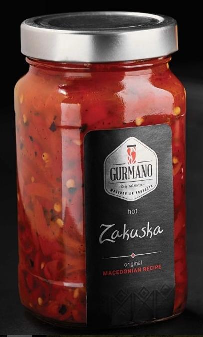 Gurmano Закуска острая, 490 г delphi брускетта из печеного перца 230 г