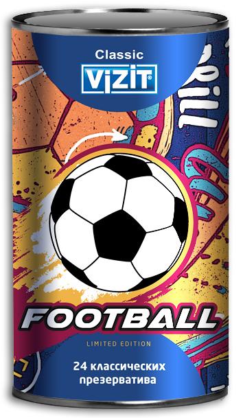 "VIZIT Презервативы ""Football"", 24 шт"