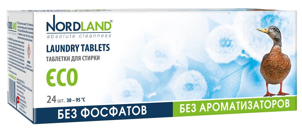 Таблетки для стирки NORDLAND, 24 шт х 30 г