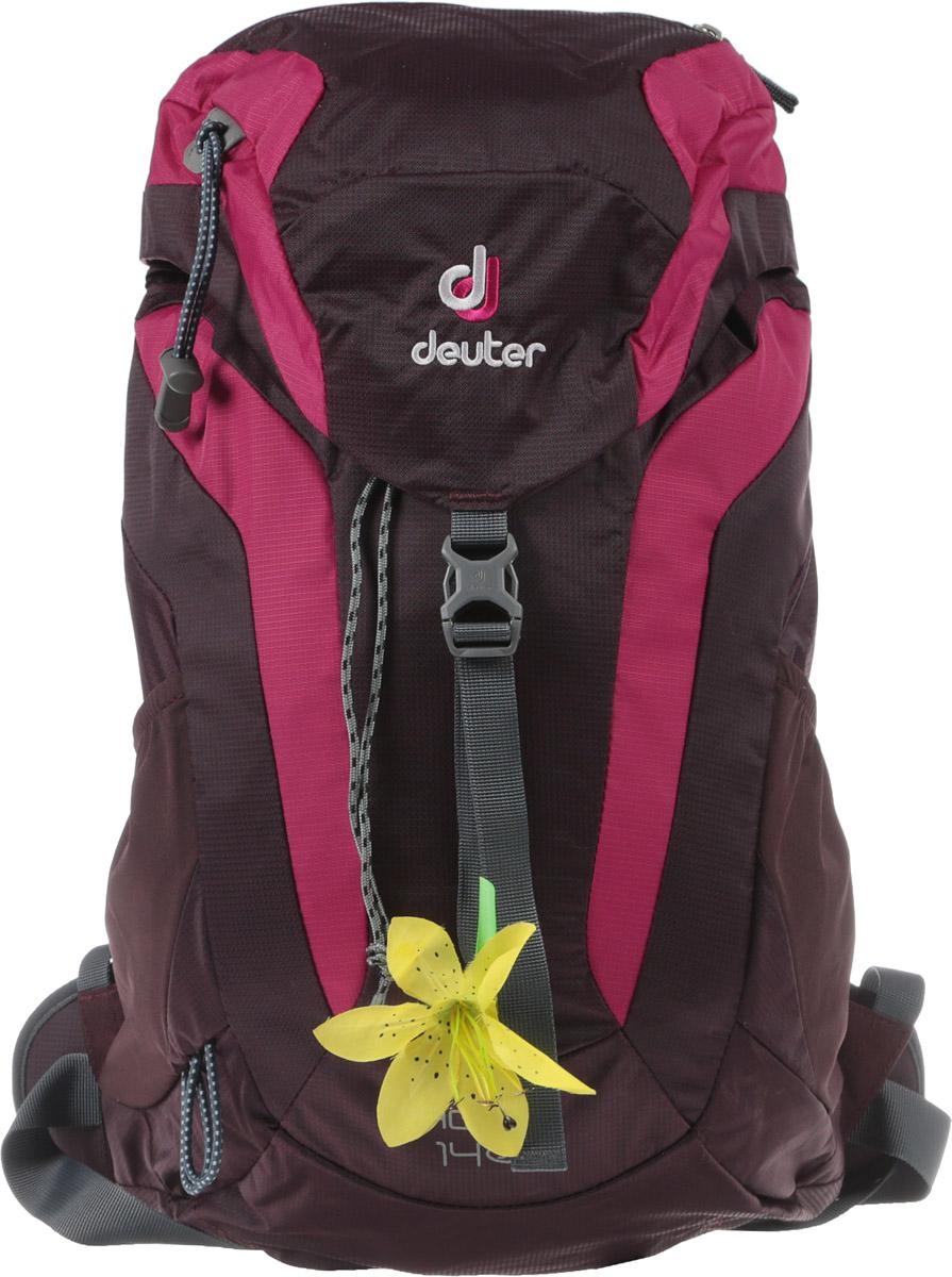 Рюкзак туристический Deuter AC Lite, цвет: фиолетовый, 14 л рюкзаки proff рюкзак