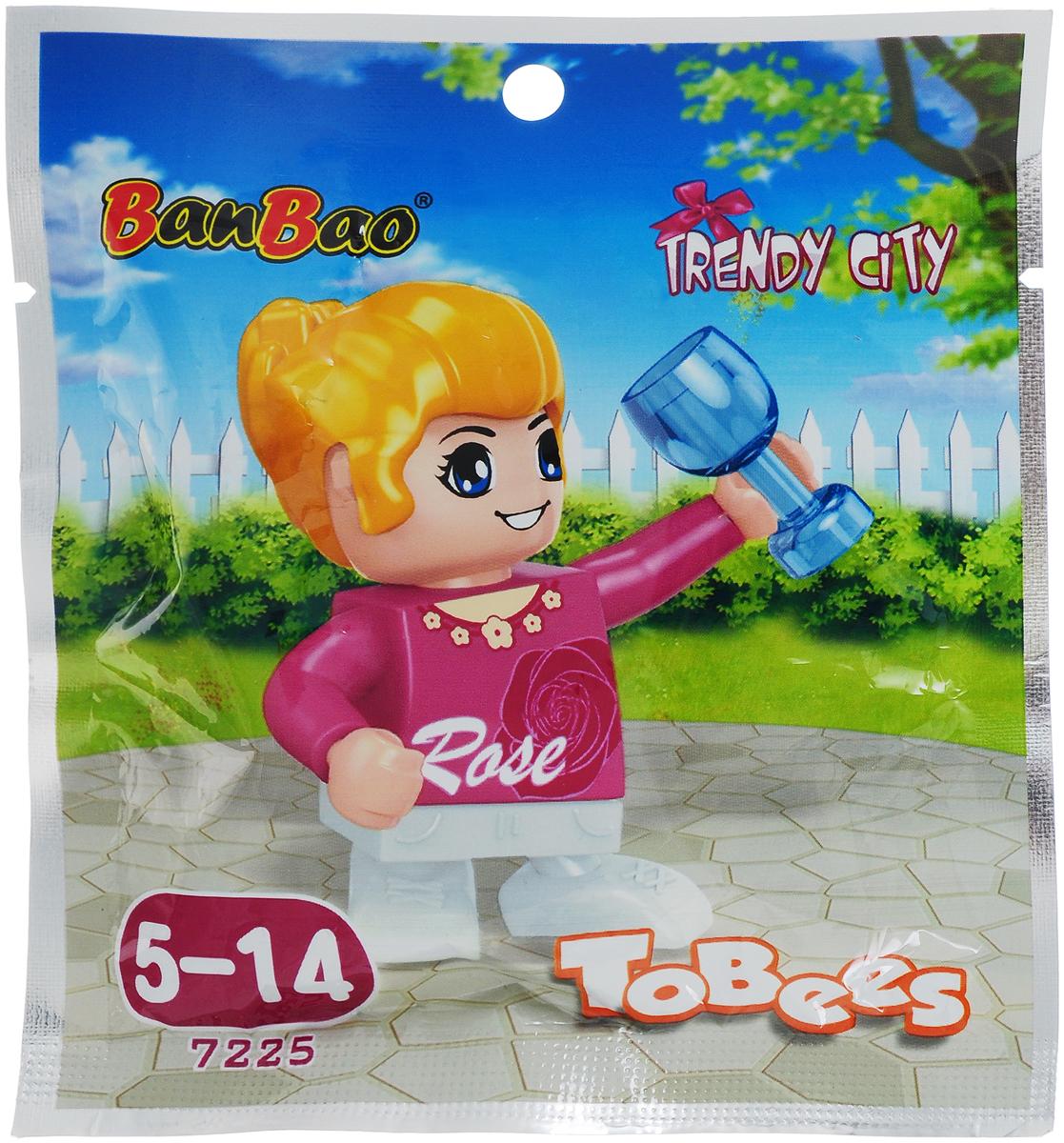 BanBao Конструктор Фигурка Tobees 7225