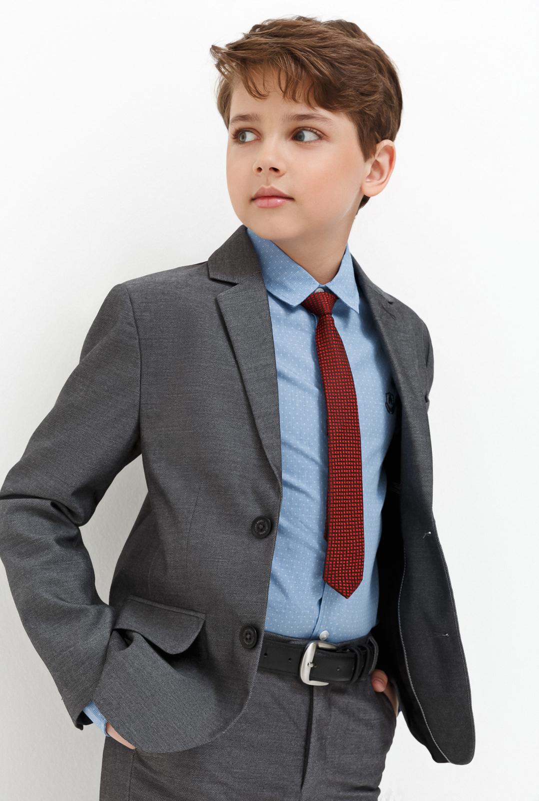 Пиджак для мальчика Acoola Gresham, цвет: серый. 20140130029_1900. Размер 134