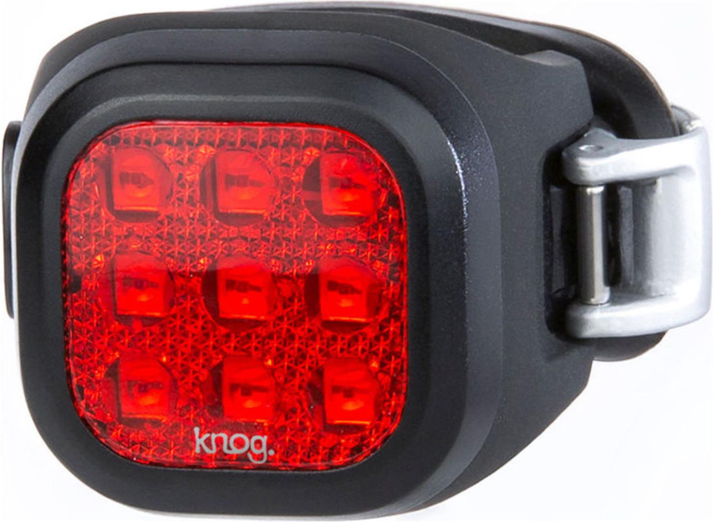 Велофонарь задний Knog Blinder Mini Niner, цвет: черный