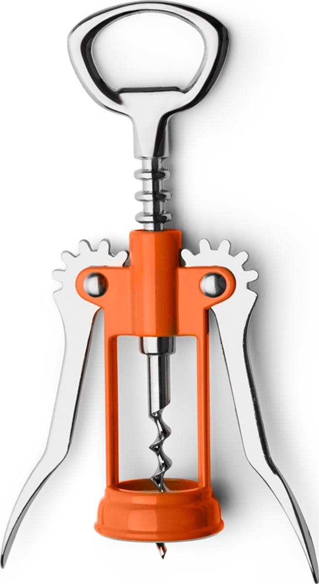 Классический штопор изготовлен из металла и пластика, сочетает в себе прочность в использовании и яркий дизайн. Точен и удобен в применении.