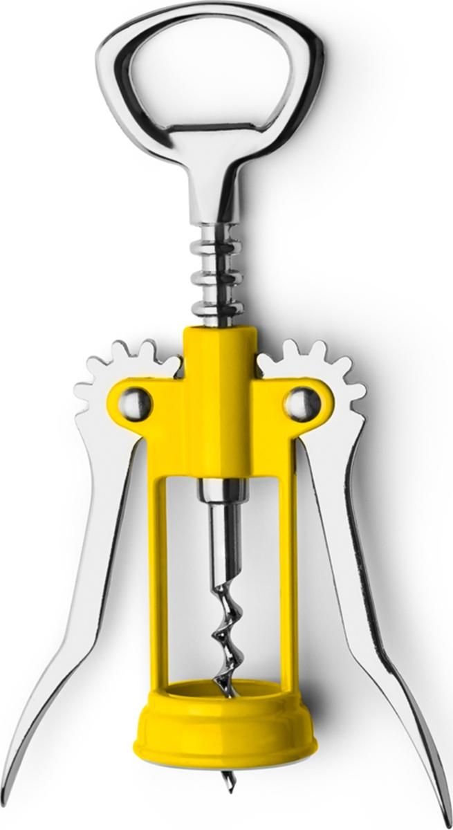 Классический штопор, изготовлен из металла и пластика, сочетает в себе прочность в использовании и яркий дизайн. Точен и удобен в применении.