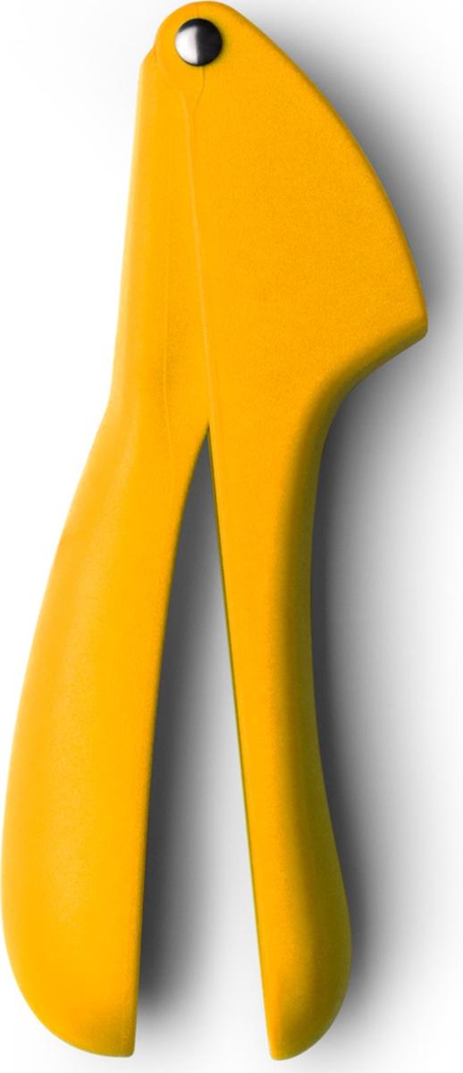 Пресс для чеснока поможет легко измельчить чесночные дольки. Емкость хорошо промывается. Имеет удобные эргономичные ручки из пластика. Подходит для мытья в посудомоечной машине