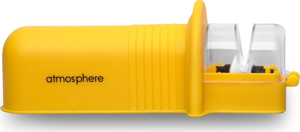Удобная в применении, компактная ножеточка с керамическими колесиками подходит для заточки любого типа стали.