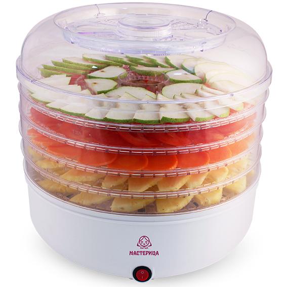 Мастерица СШ-0105, White сушилка для овощей и фруктов