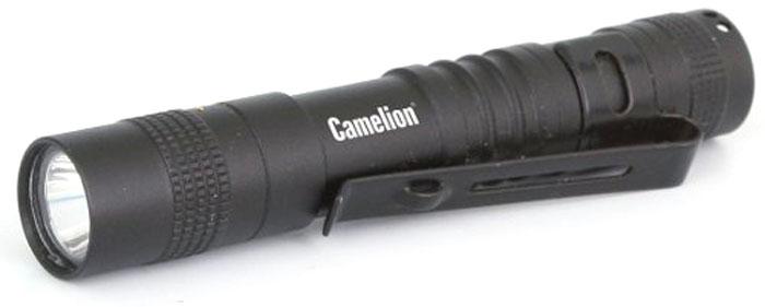 Фонарь ручной Camelion Techno, LED XPE, 3 режима, цвет: черный. LED51516