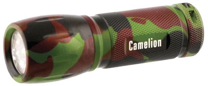 Фонарь ручной Camelion Techno, 9 LED, цвет: камуфляж. LED5107-9ML