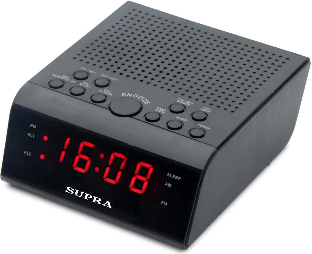 Supra SA-44FM радио будильник