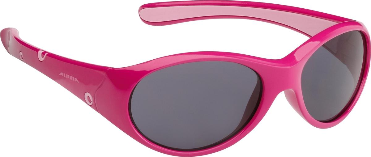 Велосипедные очки Alpina Flexxy Girl, цвет оправы: розовый