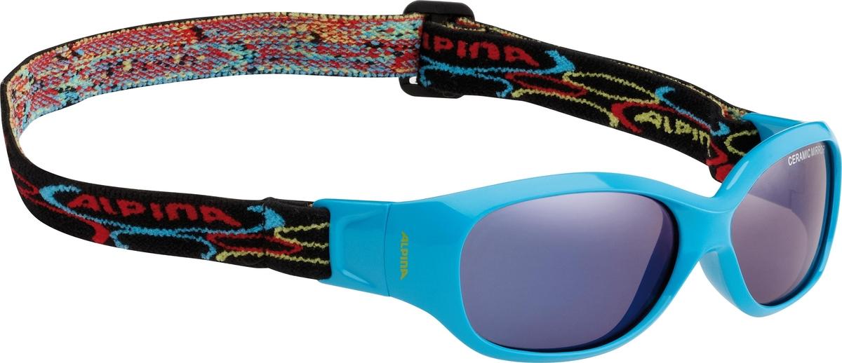 Велосипедные очки Alpina Sports Flexxy Kids, цвет оправы: бирюзовый